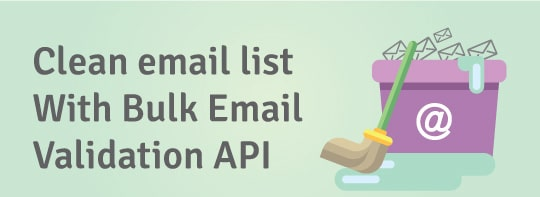Bulk Email Validation API