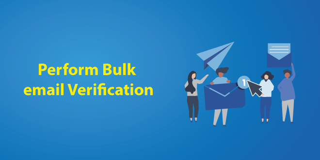 Perform Bulk Email Verification