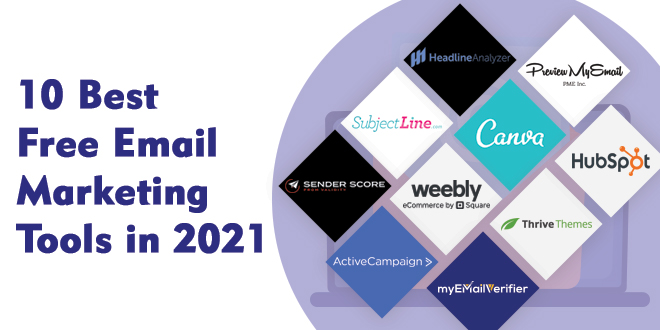 10 Best Free Email Marketing Tools in 2021