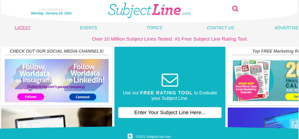 free subject line creator
