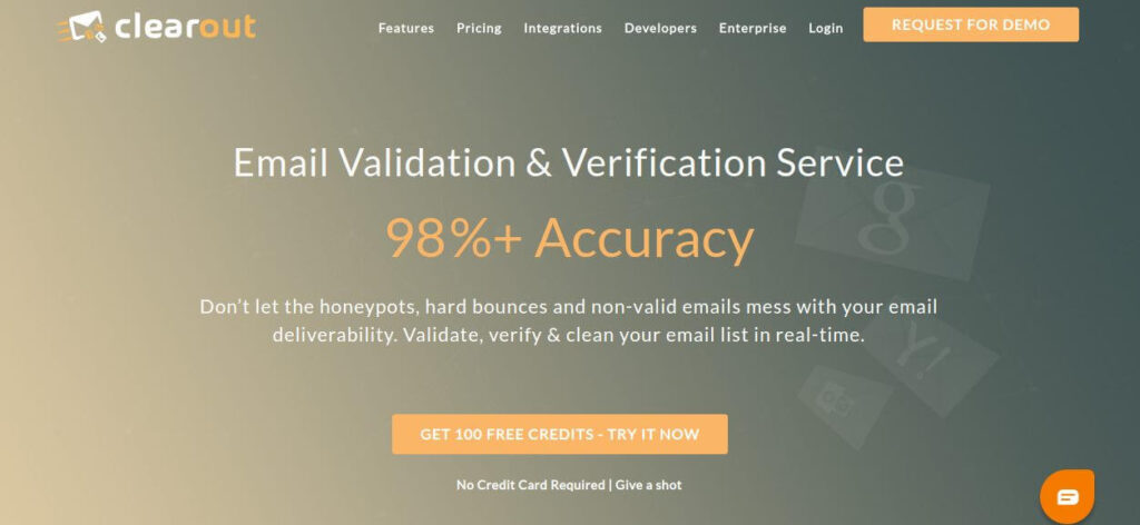 Clearout | Email Verification & Validation Software | Screenshot